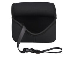 JJC Neoprene Compact Camera Pouch Case for Sony A6000/A6300/A6500/A5000 +16-50mm