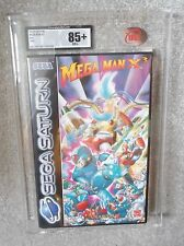 Sega Saturn Factory sealed Megaman X 3 Graded complete new NMINT !!! 85+