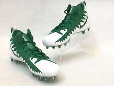 Nike Alpha Menace Pro Mid New Mens Football Cleats 871451-311 Green Size 10