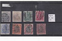 germany 1900 reichspost   stamps  Ref 9286