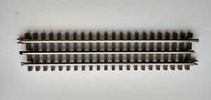 Atlas O track (5 pieces) #6050 10-inch Straights with rail joiners