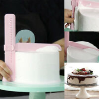 Adjustable Cake Smoother Tools Cutter Decorating Fondant Sugarcraft Icing Mold/w