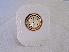 Lenox Nightstand Clock made in Usa-ivory