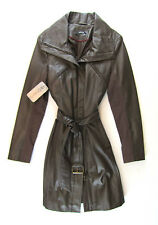 APRIORI Ledermantel 38  braun NEU NEW Leather Coat  manteau cuire 600€