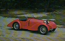 1927 Bugatti Type 37 Sport Roadster --- Transportation Automobile Car Postcard