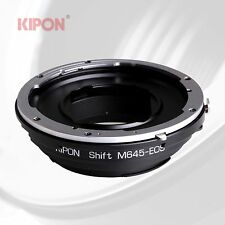 New Kipon Shift Adapter for Mamiya 645 M645 Mount Lens to Canon EOS EF Camera