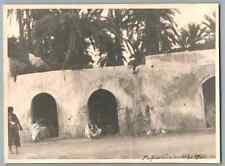 Libia, Tripoli (طرابلس), Colonia Tripolitania Vintage silver print. La colonia T