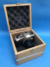 Leisegang Kolposkope SR Mono Machine Camera in Wooden Box