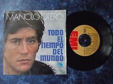 """Manolo Otero - Todo El Tiempo Del Mundo.  7"""" vinyl single (7v1346)"""