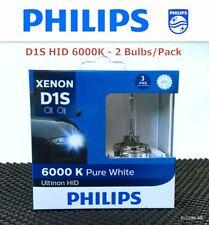 PHILIPS D1S 85410 Ultinon 6000K HID Headlight Bulb 2 Pcs Made in GERMANY #UKgtn