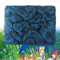3D Rock Stone Reptile Aquarium Fish Tank Background Board Plate Decor 60x45cm