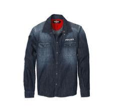 Ducati Metropolitan Jeans Shirt Jeans Denim Shirt Shirt Denim Blue Limited New