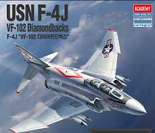 [ACADEMY] USN F-4J VF-102 Diamondbacks #12323  Air Craft Assembly Model  1/48