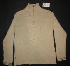 Levis Sweater Men's Medium Long Sleeve Turtleneck Beige Classic