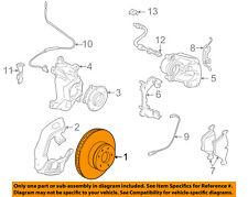BMW OEM 97-00 528i Front Brake-Disc Rotor 34116767061