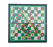 Snakes And Ladders Board Game Family Xmas Game Traditional Game Magnetic 3813