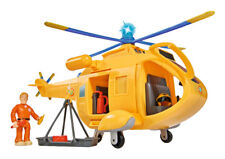 Simba 109251002 Feuerwehrmann Sam: Hubschrauber Wallaby II mit Figur