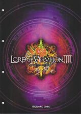 2013 Square Enix Lord Of Vermilion Iii Jp Video Flyer