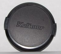 Used Kalimar 62mm Lens Front Cap snap on type plastic B20309