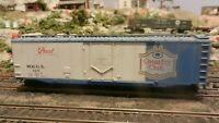 Athearn HO BB  50' Plug Door Boxcar Pearl Brewing, Upgraded, Exc.