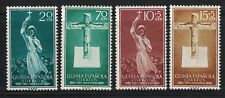 SPANISH GUINEA:1953 SC#358-59,B48-B49 MNH Catholic missions in Spanish Guinea