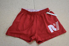 "40 REBEL YELL ""RY Essential"" Gym Zumba Pilates Yoga Athletic Shorts RED SMALL"