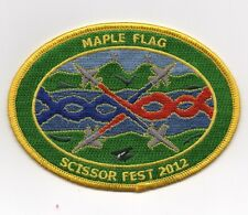 USAF Patch 134th FIGHTER SQUADRON, MAPLE FLAG U.S. - Canadian EXERCISE 2012