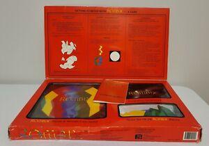 Vintage Rombix Educational Puzzle Math Shape Brain Color Game Geometric Complete