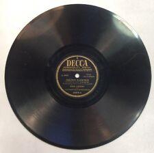 "Golden Earrings & Ballerina 78RPM 10"" Record Bing Cosby Trotter ShopVinyls.com"