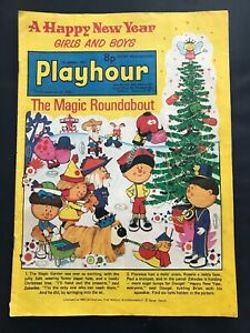 Playhour Comic : 1st January 1977 : A Happy New Year
