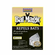 BONIDE PRODUCTS 876 4Pack Bat Repellent, New, Free Shipping