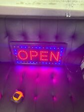Ultra Bright Led Neon Open Sign for Business Animated Motion Light