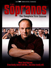 The Sopranos - The Complete First Season (DVD, 2015, 4-Disc Set) New Sealed