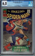 CGC 6.5 AMAZING SPIDER-MAN #42 WHITE PAGES 1ST MARY JANE FACE IT TIGER JACKPOT