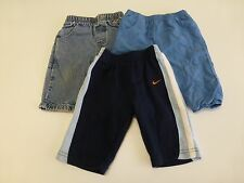 3 Nike Childrens Place Baby Boys Size 3-6M Pants & Jeans Lot Great Condition