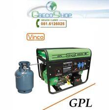 Generatore di corrente GPL con avviamento elettrico 2000W - 220V Vinco - 60170