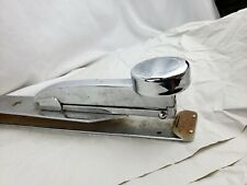 Huge Chrome Stapler Vail Manufacturing Monarch, rare, ca. 1940s