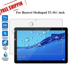 """For Huawei MediaPad T5 10.1"""" Tablet Shockproof Tempered Glass Screen Protector ~"""