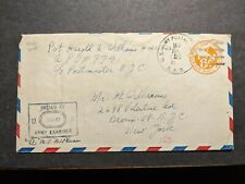 Apo 153 France 1944 Censored Wwii Army Cover Soldier's Mail Apo 7741