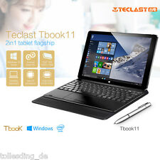 "Teclast Tbook 11 Tablet PC 10.6"" Dual OS Win 10/ Android 5.1 64G+4GB W/ Keyboard"