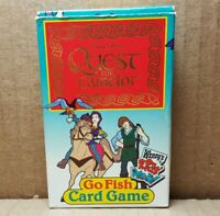 1998 Wendy's Quest For Camelot Go Fish Card Game (B-3)