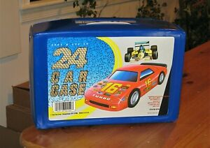 *** VINTAGE 24 DIECAST CAR CARRYING CASE BY TARA TOYS ***