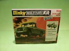 DINKY TOYS 1:43 ARMY LAND ROVER  -  1032 - RARE SELTEN - GOOD CONDITION IN BOX