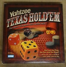 Yahtzee Texas Hold'em Edition Dice Game Poker Game Poker Chips