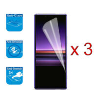 For Sony Xperia 1 XZ4 LCD Screen Protector Cover Guard Film Foil x 3