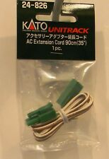 KATO 24826 HO or N Scale Unitrack AC Extension Cord