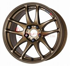WORK Wheel EMOTION CR Ultimate Kiwami 17inch Ash Titanium (AHG) 9.0J +38/+28/+17