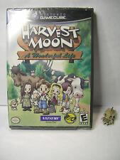 harvest moon a wonderful life NINTENDO GAME CUBE vers ntsc USA neuf - NEW sealed