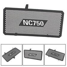 Schwarz Kühlerabdeckung Kühlergrill Schutz Für Honda NC750X NC750S 2012-2018