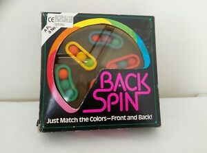Vintage Back Spin Puzzle Game - Binary Arts  COMPLETE